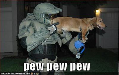 HALO - pew pew pew