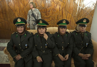 Female Police Women in Afghanistan - photo props