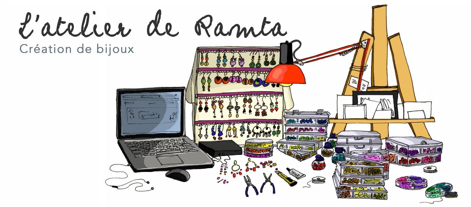 l'atelier de Ramta