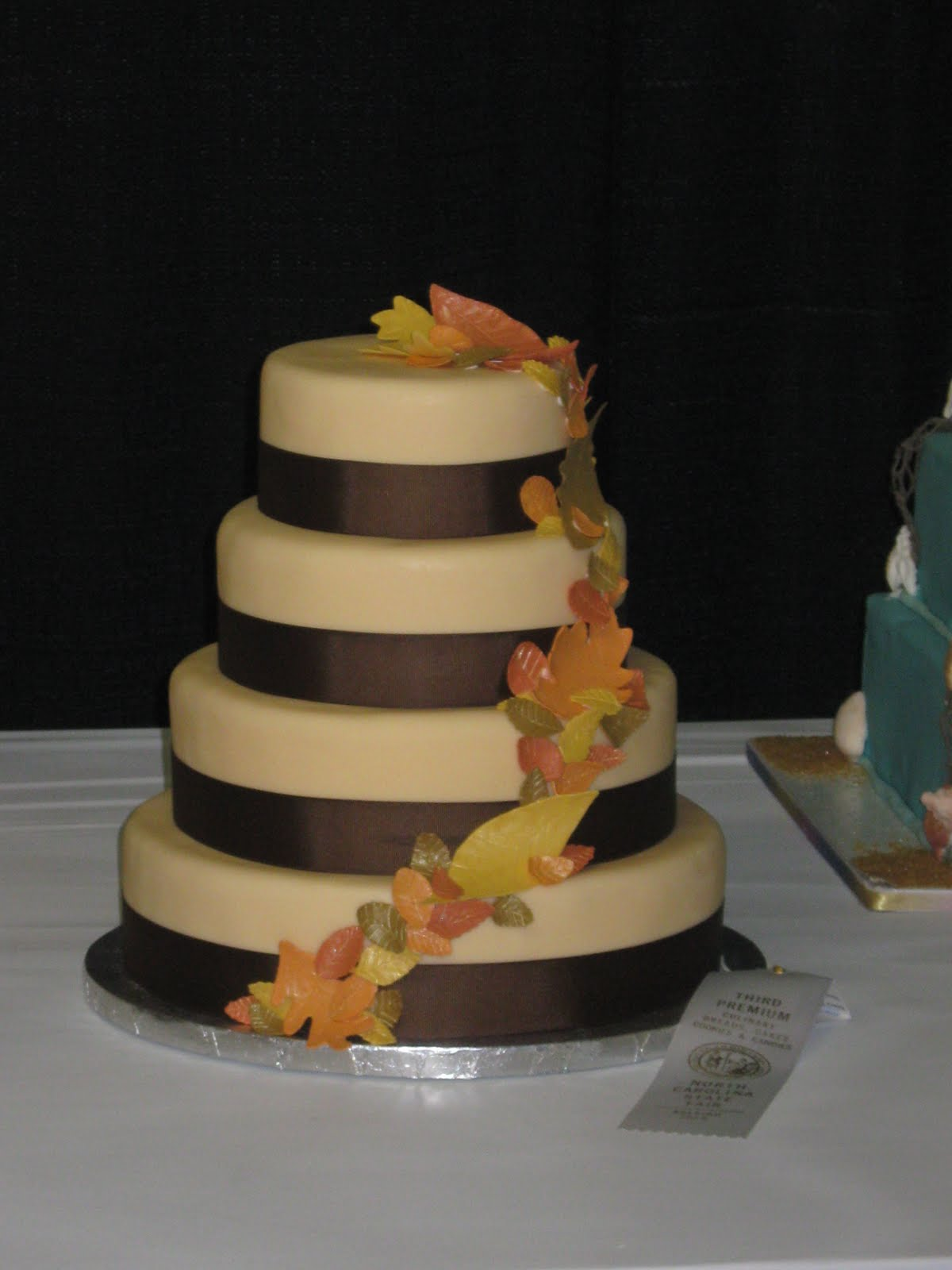 Cakes by Becky Fall Wedding Cake