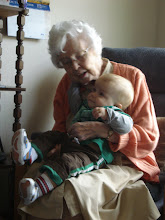Kale and Great Grandma Smith