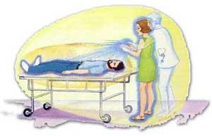 Cirurgia espiritual à distância.