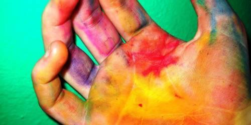 Immigrazione e omosessualit tutti i colori della pelle - Arcobaleno a colori e stampa ...