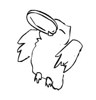 owl frisbee