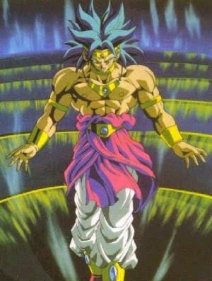 dragon ball z broly the legendary super saiyan