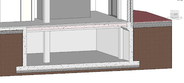 how to change a room slab on revit