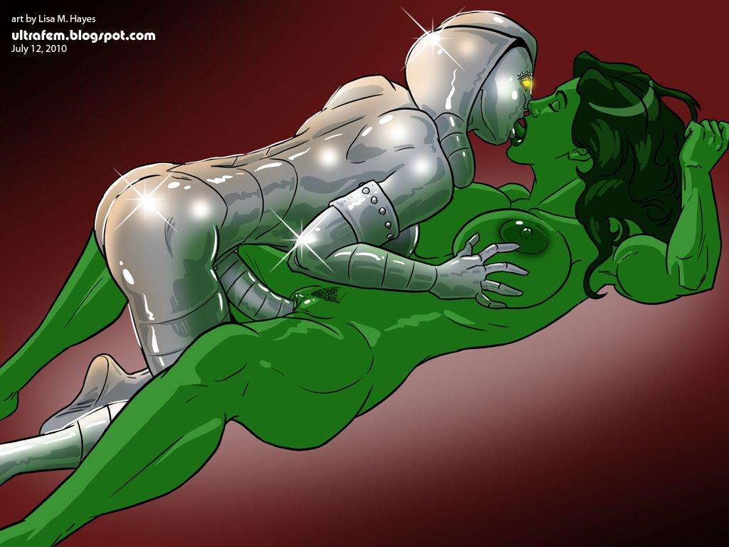 hulk porn. Jocasta and She-Hulk ?