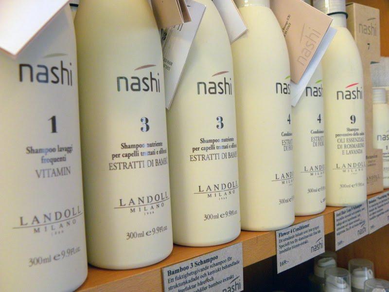 nashi shampoo och balsam