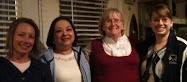 Suzanne, Lourdes,                             Diane & Lindsey