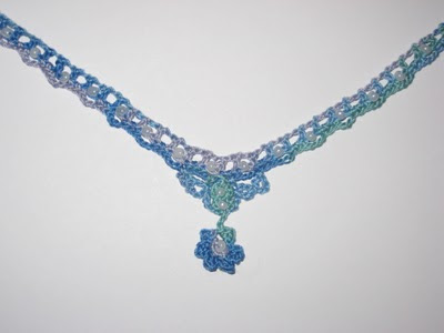 beaded lace choker for easter, mother's day, anyday