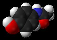 La molécule du paracétamol