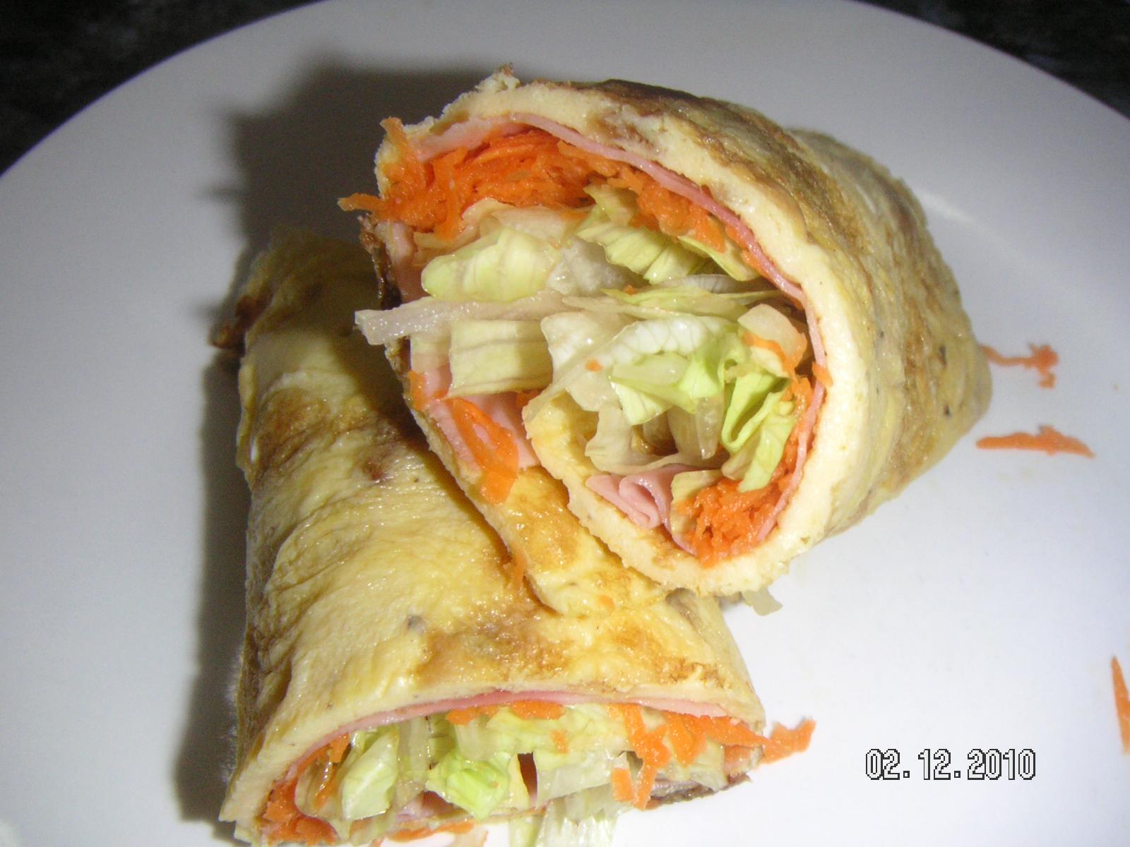 Cocinando la maribunda rollitos de zanahoria for Una comida rapida