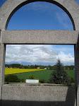 Campo de colza -vista de Brucheres - França, em 2009