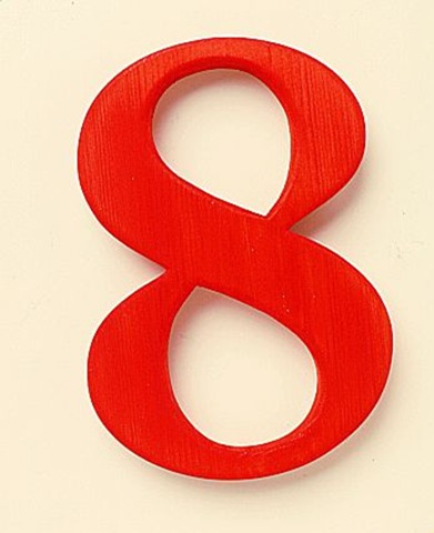 Landmark Thoughts: What's in a number EIGHT?