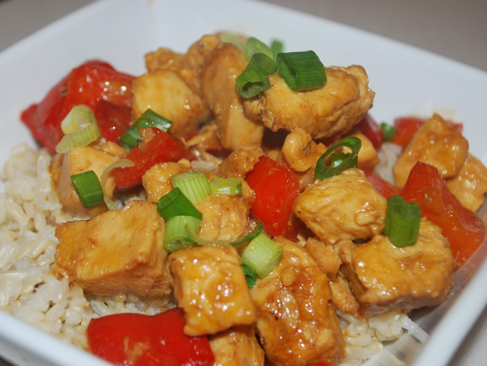 Orange Chicken with Rice