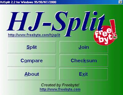 FreeByte HJSplit 2.4