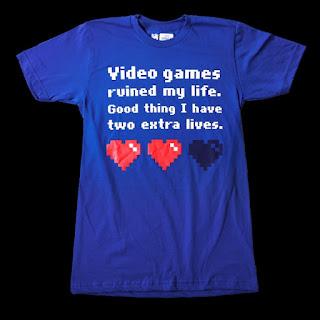 maglietta videogiocatore incallito