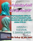@ 15 jan : sakinhani giveaway