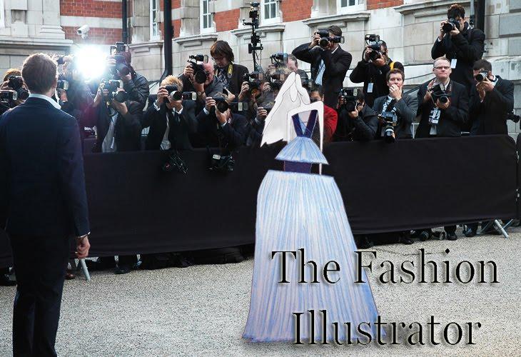 john galliano fashion illustration. The Fashion Illustrator