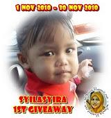 SyilaSyira 1st GiveAway