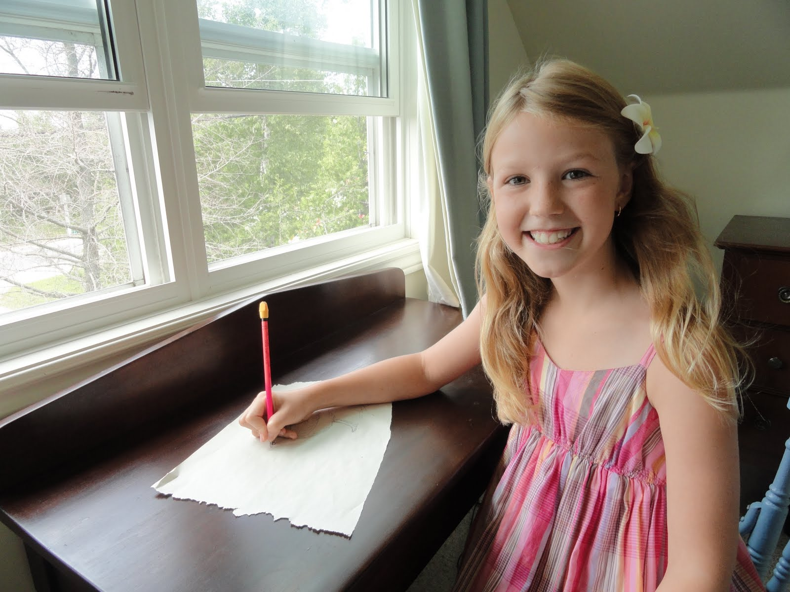 Young girl takes up piping plover cause