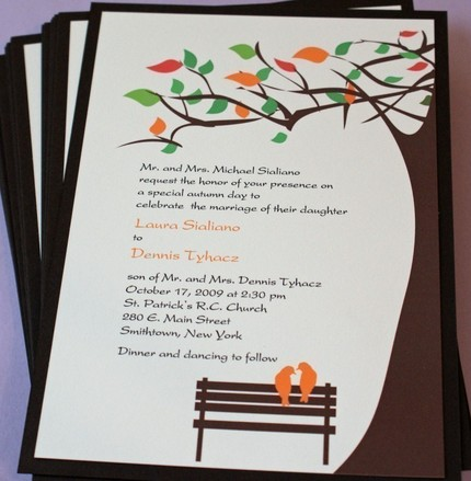 Taylor 39s Paperie has created these beautiful invitations The love birds