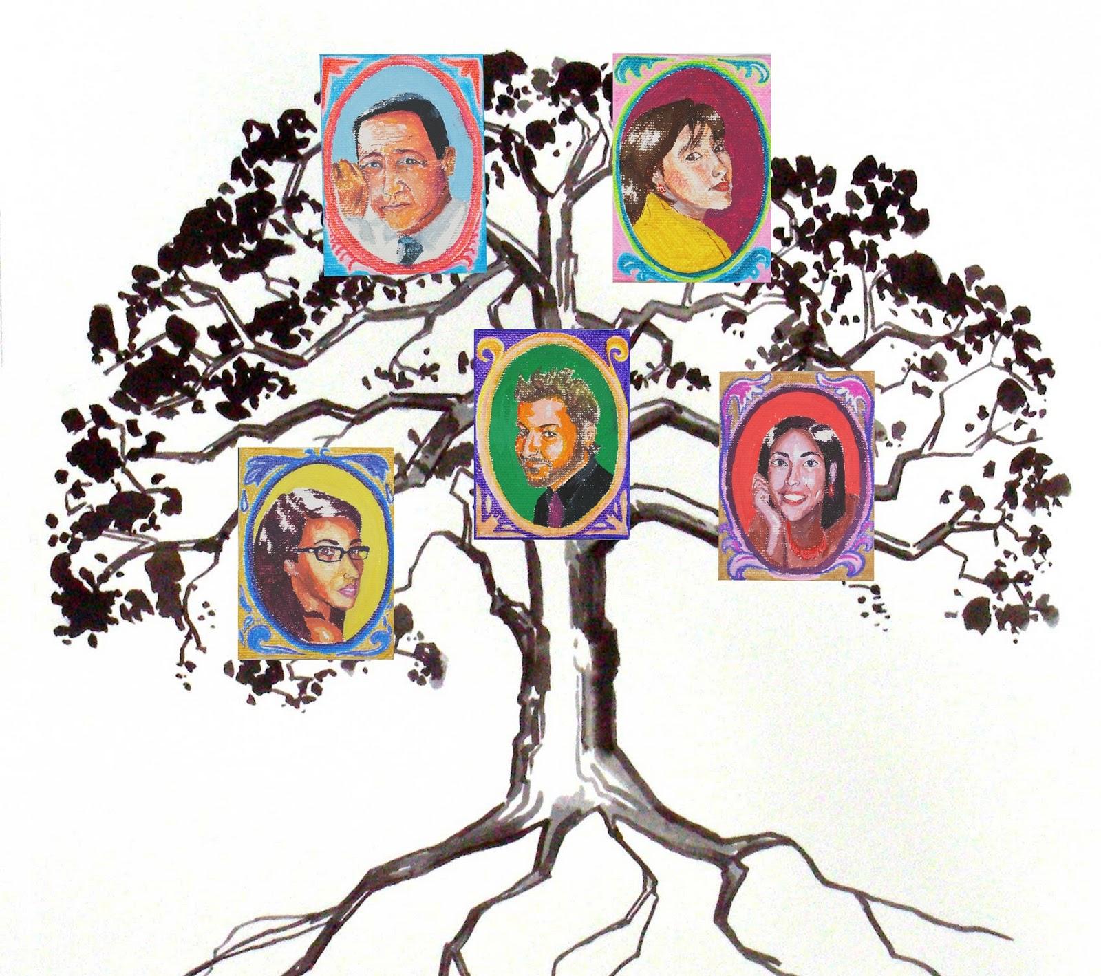 mi árbol genealógico navidad en familia - Vaydile.euforic.co