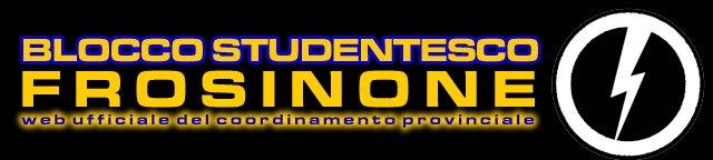 Blocco Studentesco Frosinone - web ufficiale.