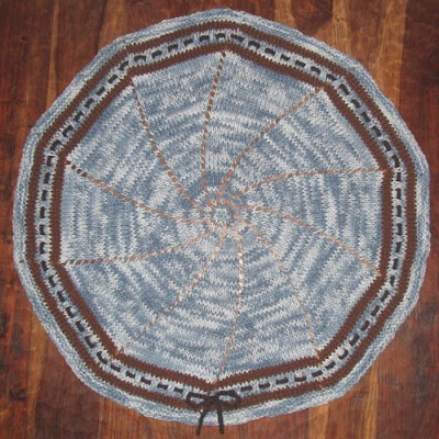 Circular Baby Afghans - Crochet Patterns - Cross Stitch