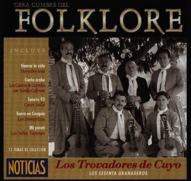 Mix 80 ochentoso colecci n obras cumbres del folklore for Revistas del espectaculo argentino