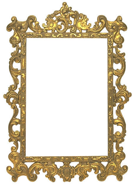 with overly Ornate+frame