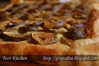 Articole culinare : Tarta frangipane cu smochine