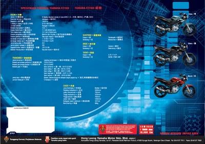 Spesifikasi FZ150i