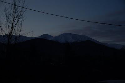 Muntii in zori