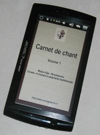 Carnet de Chant