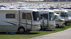 One Lot of RVs at the Rally