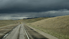 Driving to Deer Lodge, Montana