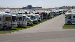 Another View of RVs at The Rally