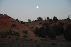 Moon Over Campsite