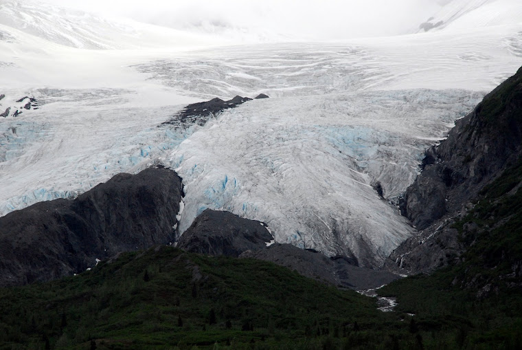 """Blue Ice"" in the Worthington Glacier"