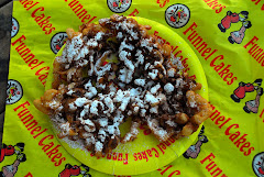 Funnel Cake Served at the Festival