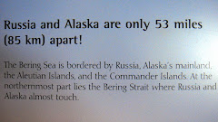 So Sarah Palin Was Right! (Sign at the Alaska Sea Life Museum)