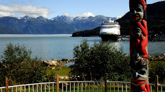 A View of Portage Cove and Port Chilkoot Dock in Haines, Alaska