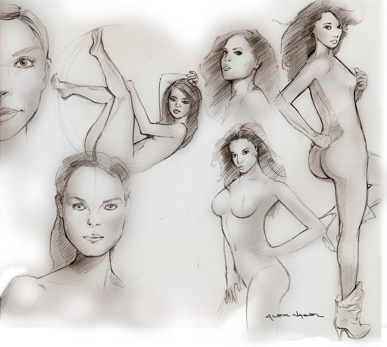 Expressions Reference Drawing Life Drawing And Capturing