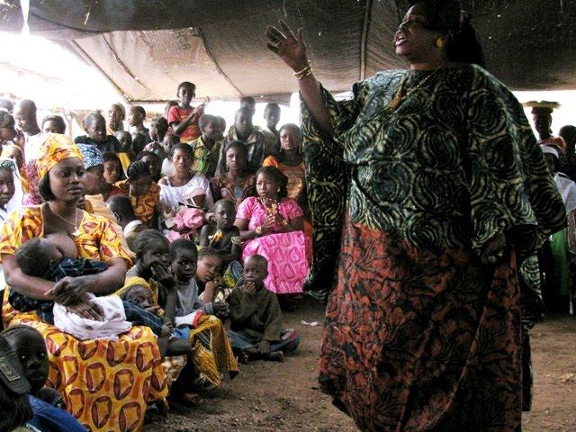 Bamako, griot