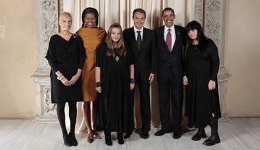 foto de las hijas de zapatero