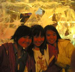 jan,jes, me at 'Bali Bersalju'