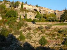 Village d'Ardèche  en automne