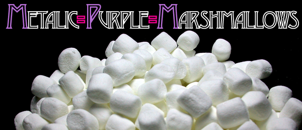 Metalic Purple Marshmallows!!!