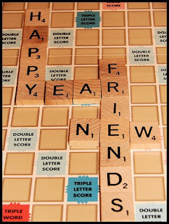 New Year Friends Cards